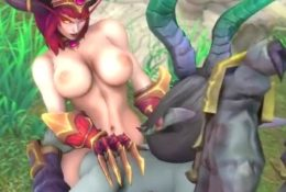 The Queens Corruptor – World of Warcraft