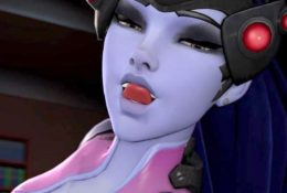 Widowmaker Blowjob like Pro – Rule 34 Video