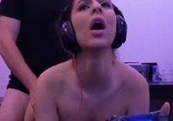 Fucks And Sucks My Girlfriend while Gaming