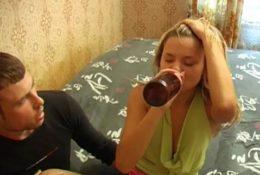 Drunk Girl Date Rape on Camera