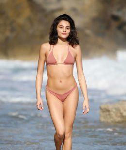 Alessia Veneziano Sexy Bikni Beach Photos