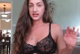 Teriana Jacobs Watch Her Nipples in YouTube Lingerie