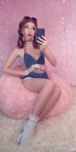 Belle Delphine Banana Sexy Snapchat Photos