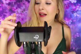 Valeriya ASMR Testing 3dio Kissing Mouth Sounds Heart Beating