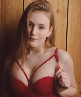 Ladykiller_cz Red Lingerie Sexy Photos