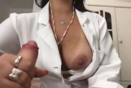 Dr Emanuelly Raquel Masturbating ASMR Hard