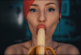 MyKinkyDope Banana ASMR Video