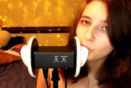 AftynRose ASMR Licks These Ears Just a Little Bit Video