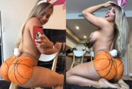 Jem Wolfie Nude Ass Painting Like Basketball Video