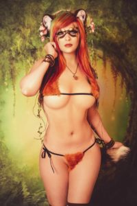 Danielle Beaulieu Tanuki Micro Bikini Photoshoot!