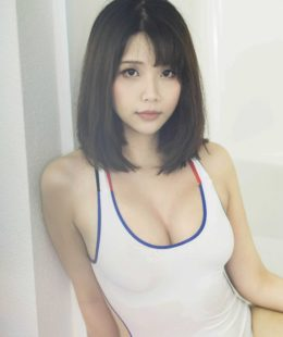 Hana Bunny Jav Swimsuit in Bath Tub