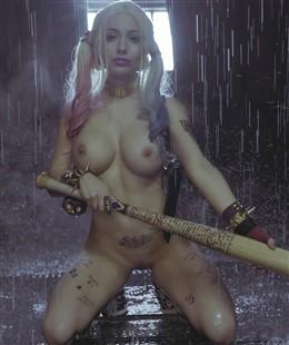 Liz Katz Nude Harley Quinn Cosplay