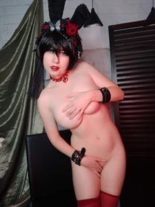 Usatame Goth Bunny Nude Photos