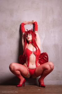 Ana Chuu Nude Rias Cosplay