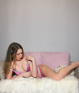 Diddly Donger Pink Leopard Print Lewd Set