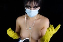 Masked ASMR NSFW Latex Gloves