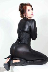 MissyPwns Sexy Black Latex Photos