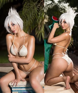 Valentina Kryp Patreon Pool Party Riven