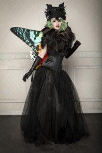 Vivid Vivka Nude Queen Of Moths Cosplay
