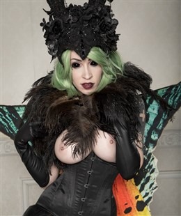 Vivid Vivka Nude Queen Of Moths Cosplay