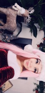 Belle Delphine Christmas Cosplay Snapchat Leaked