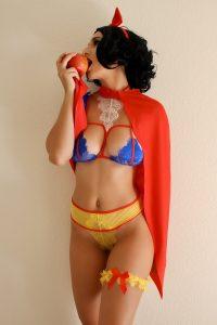 Christina Khalil Snow White Queen Costume Photos