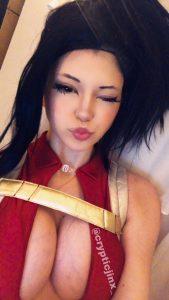 Jinx ASMR Patreon Momo Yaoyorozu Cosplay