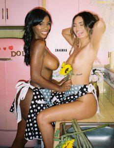 Julia Rose & Lexi Hart Nude November SHAGMAG Photos