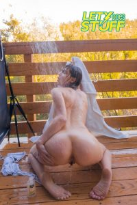 Lety Does Stuff Nude Shower Photos