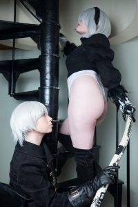 Usatame Nude Nier Automata Duo Cosplay Photos