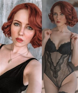 Helen Stifler Black Widow Lingerie