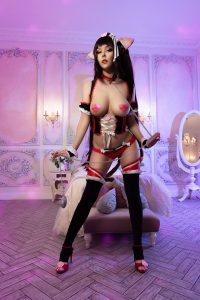 Helly Valentine Nude Chocola Cosplay