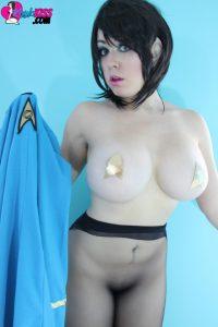 Kayla Kiss Nude Star Trek Cosplay