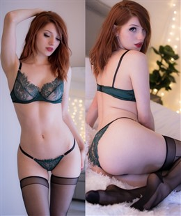 Madison Kate Sexy Emerald Lingerie