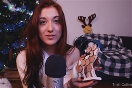 Trish Collins Winter-themed ASMR JOI Video