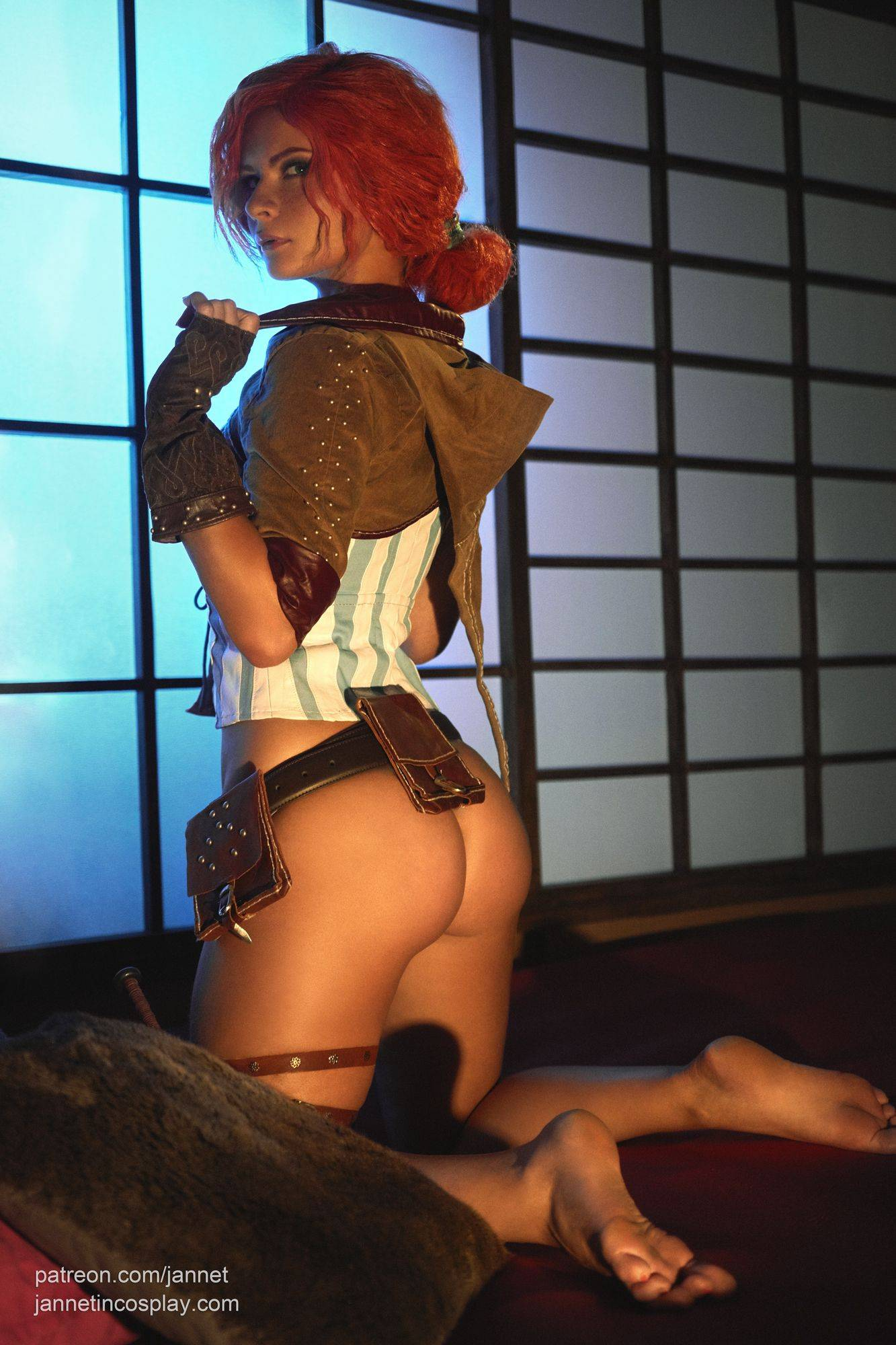 Merigold cosplay triss nude The Witcher