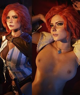 Jannet Incosplay Nude Triss Merigold Cosplay Leaked