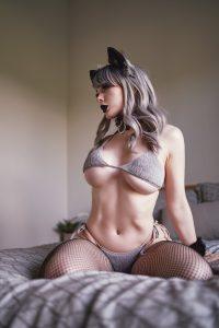 Jenna Lynn Meowri Goth Wolf GF