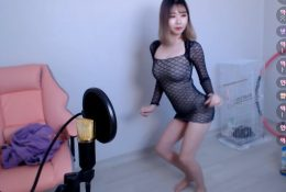 Korean Twitch Streamer Sexy Upskirt Dancing Video