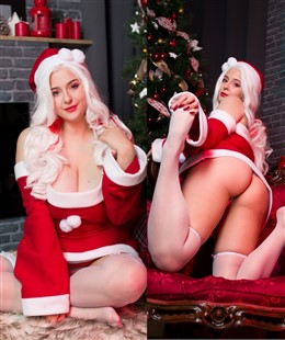 Ana Chuu NSFW Naughty Santa Photos