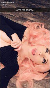 Belle Delphine Lewd Snapchat Ass Teasing Leaked