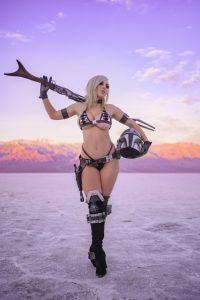 Jessica Nigri Mandalorian Cosplay