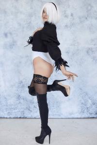 Kara Corvus Lewd Black Lingerie