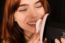 Maimy ASMR Kissing Your Face & Ears Patreon Video