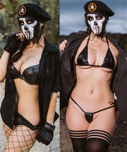 Meg Turney Caveira Cosplay Photos
