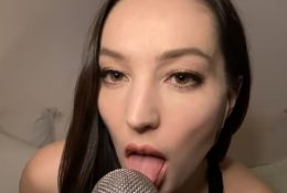 Orenda ASMR Moaning, Kissing, Licking & Eye Contact Video