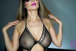 Xenia Crush NSFW Black Sheer Lingerie Video