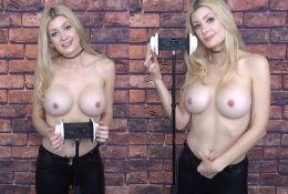 ASMR Maddy Topless Leather Pants Onlyfans Video