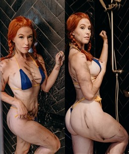 Meg Turney Lewd Micro Bikini Photos