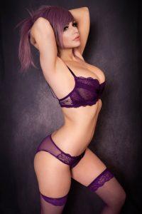 Danielle Beaulieu Purple Boudoir (Danielle Cosplay)